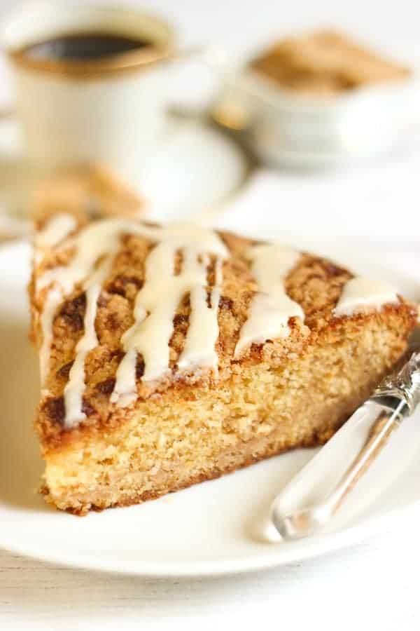 Coffee cake ultra moelleux