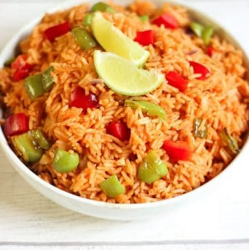 Riz à la mexicaine